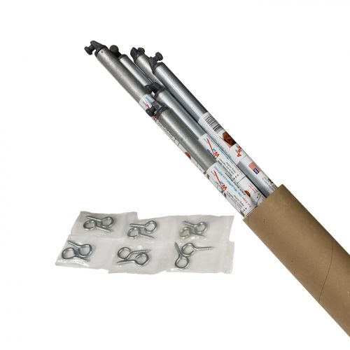 Attic Stair Puller: 6pack with plastic tips